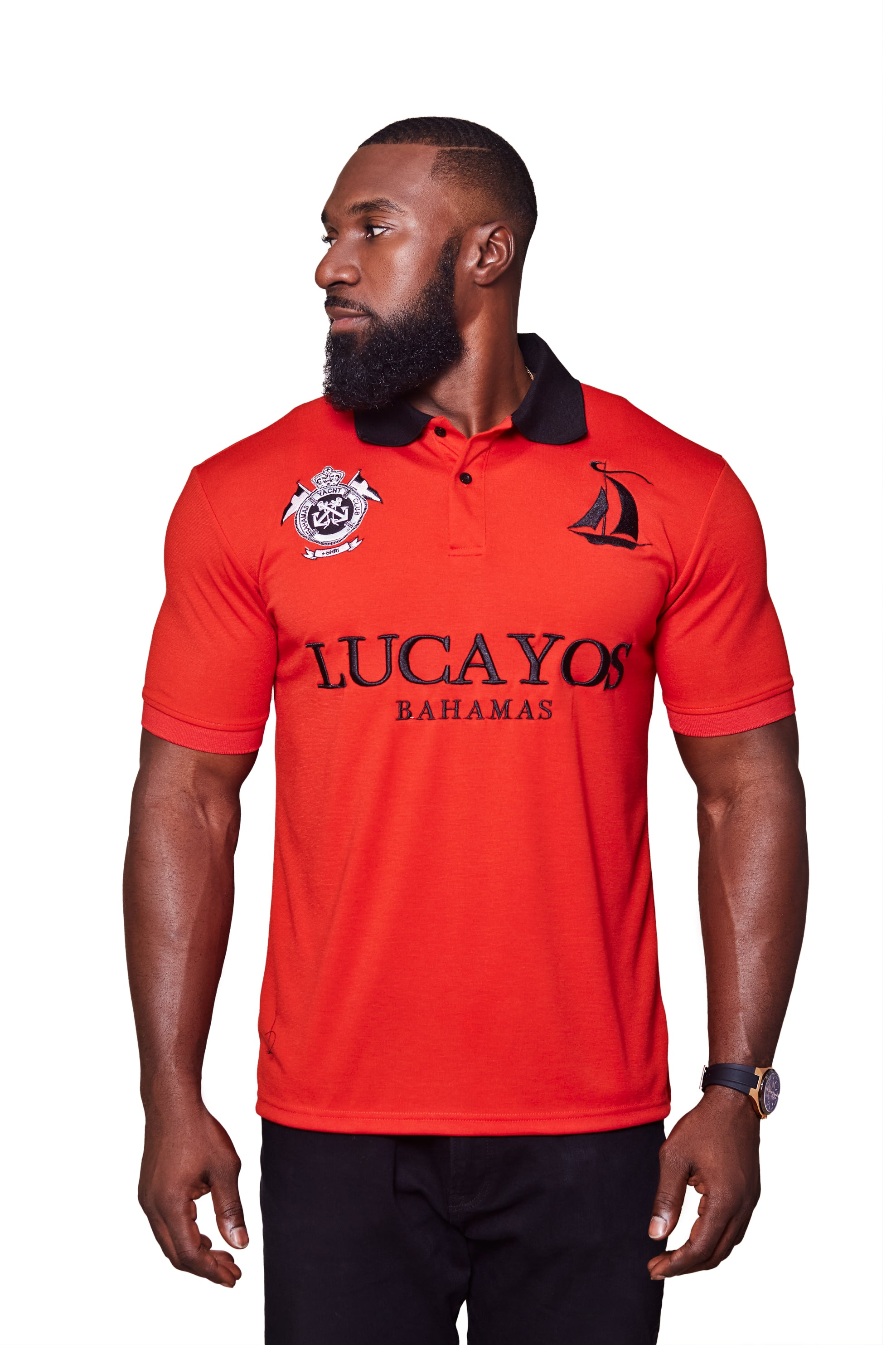 THE LUCAYOS POLO- RED