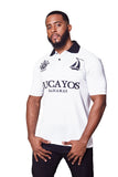 THE LUCAYOS POLO- WHITE