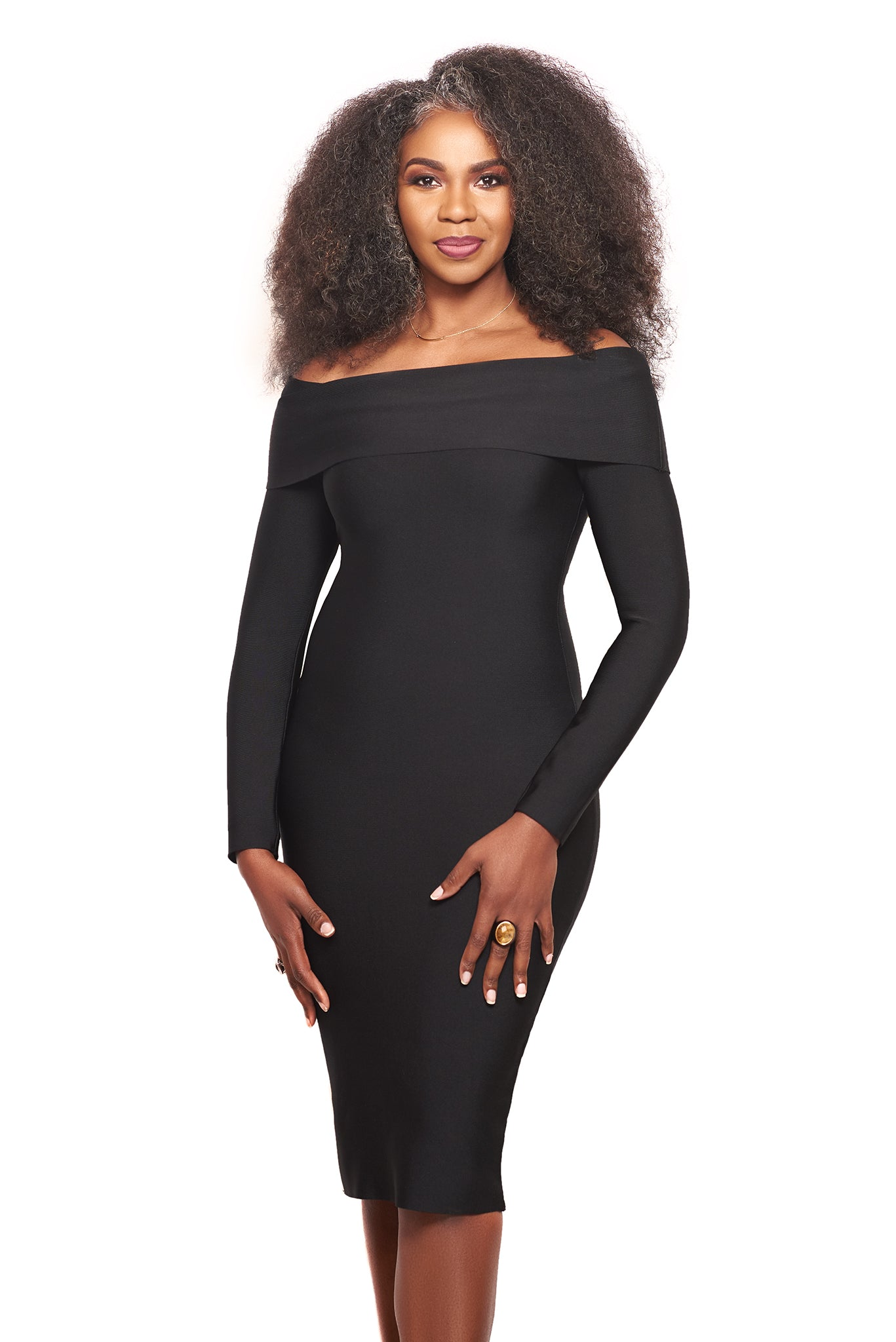 The Fortuna Bandage Dress
