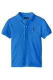 THE CLASSIC POLO- CERULEAN