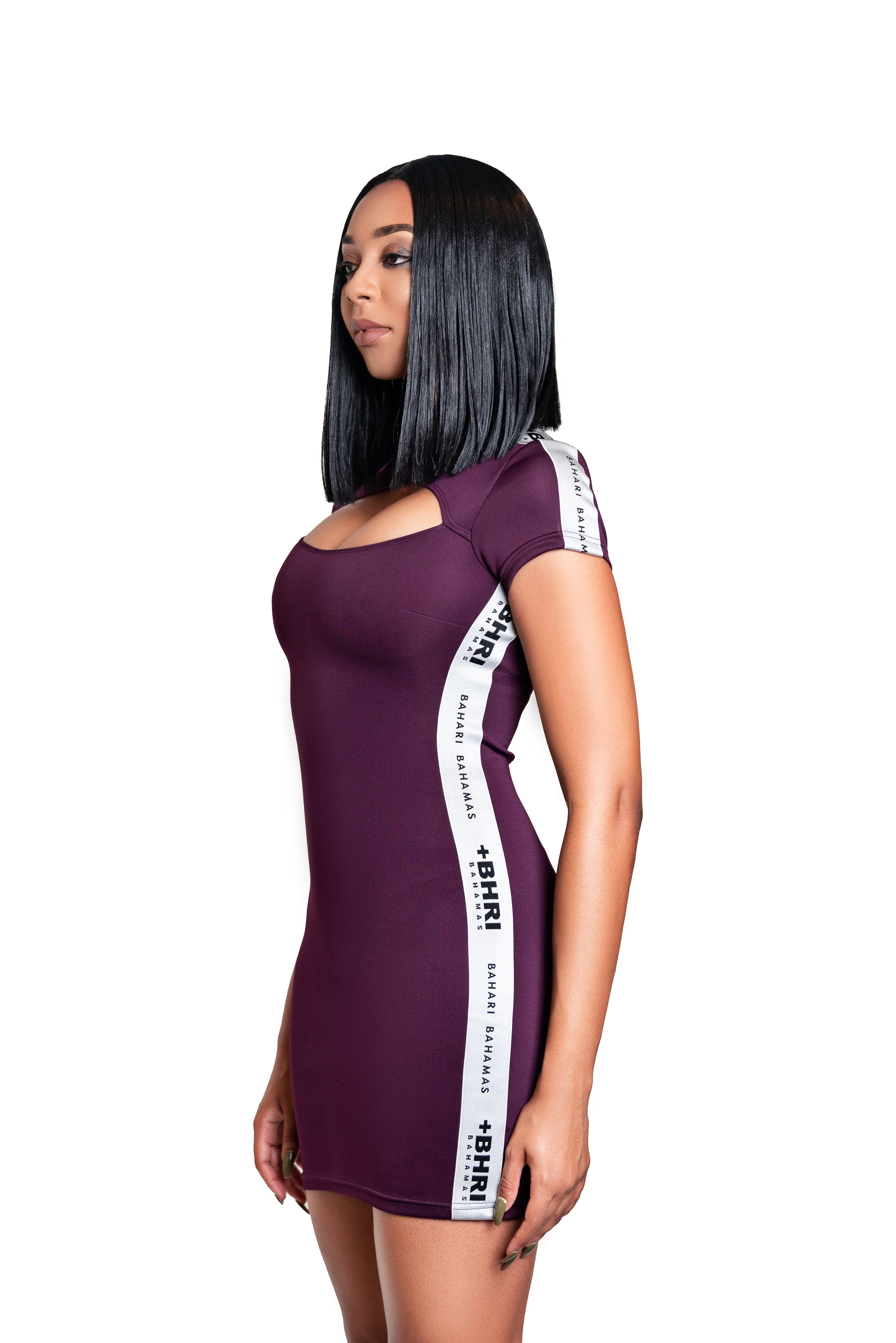 The Revel Dress- Plum