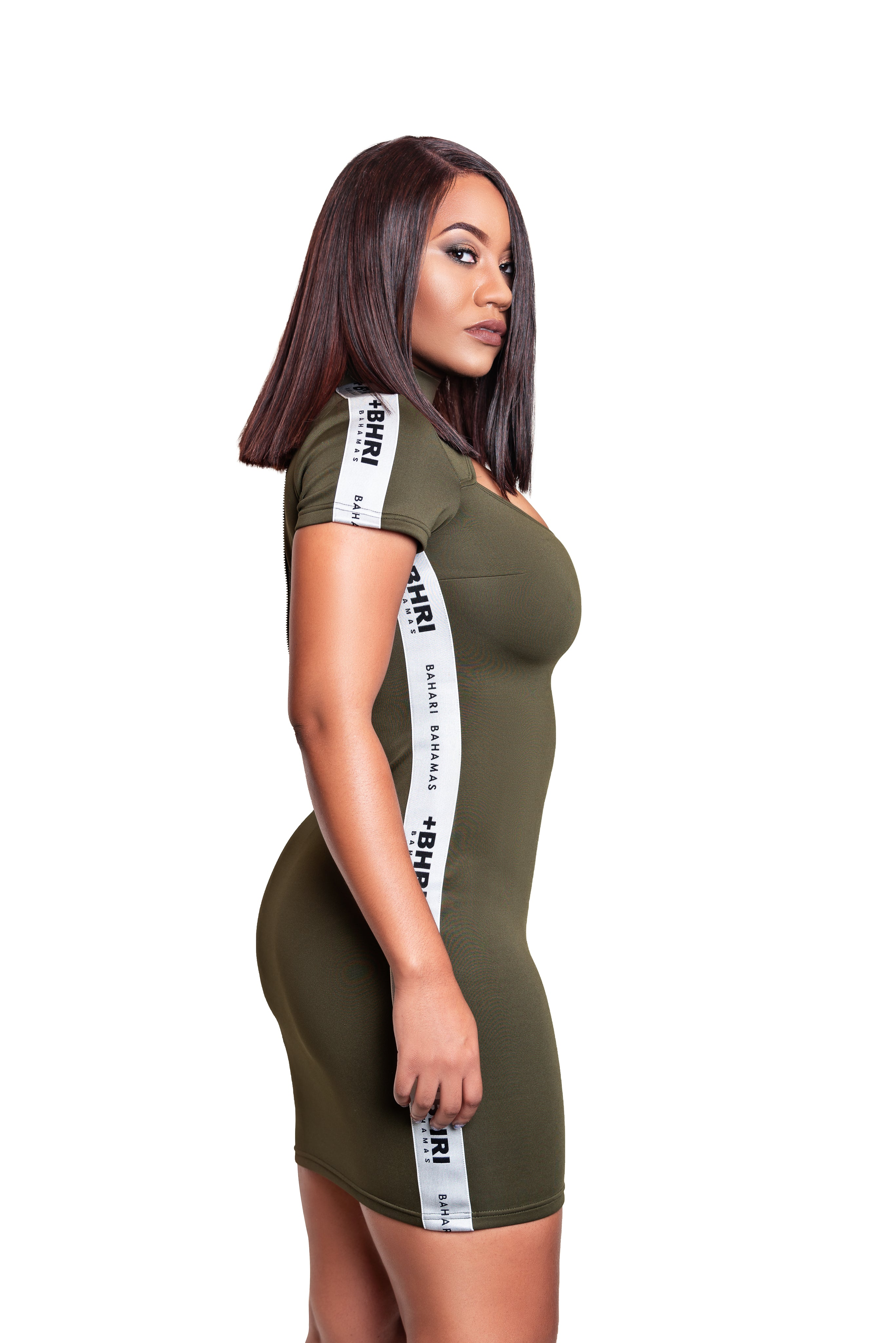 The Revel Dress- Olive