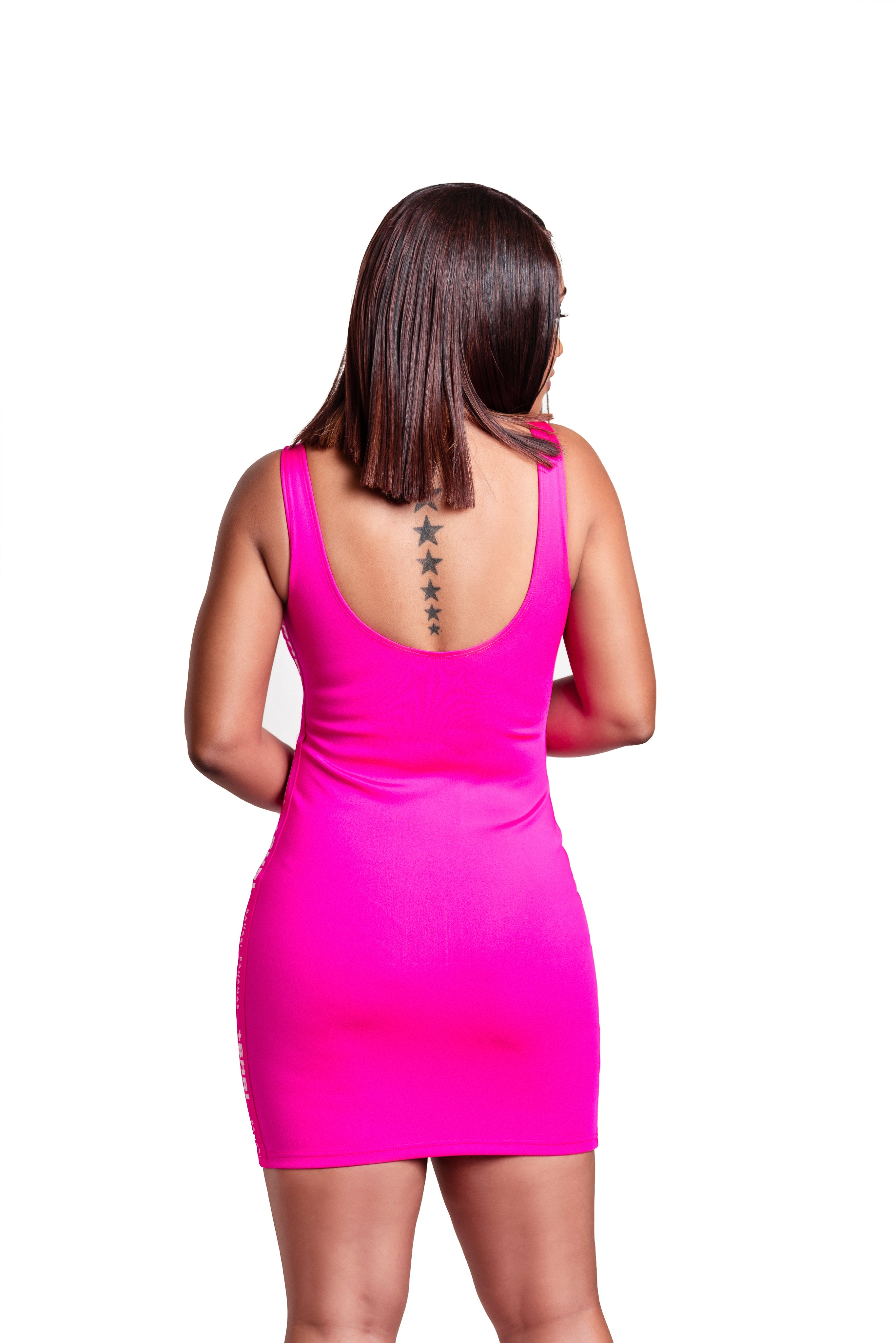 The Sticatto Bodycon- Pink