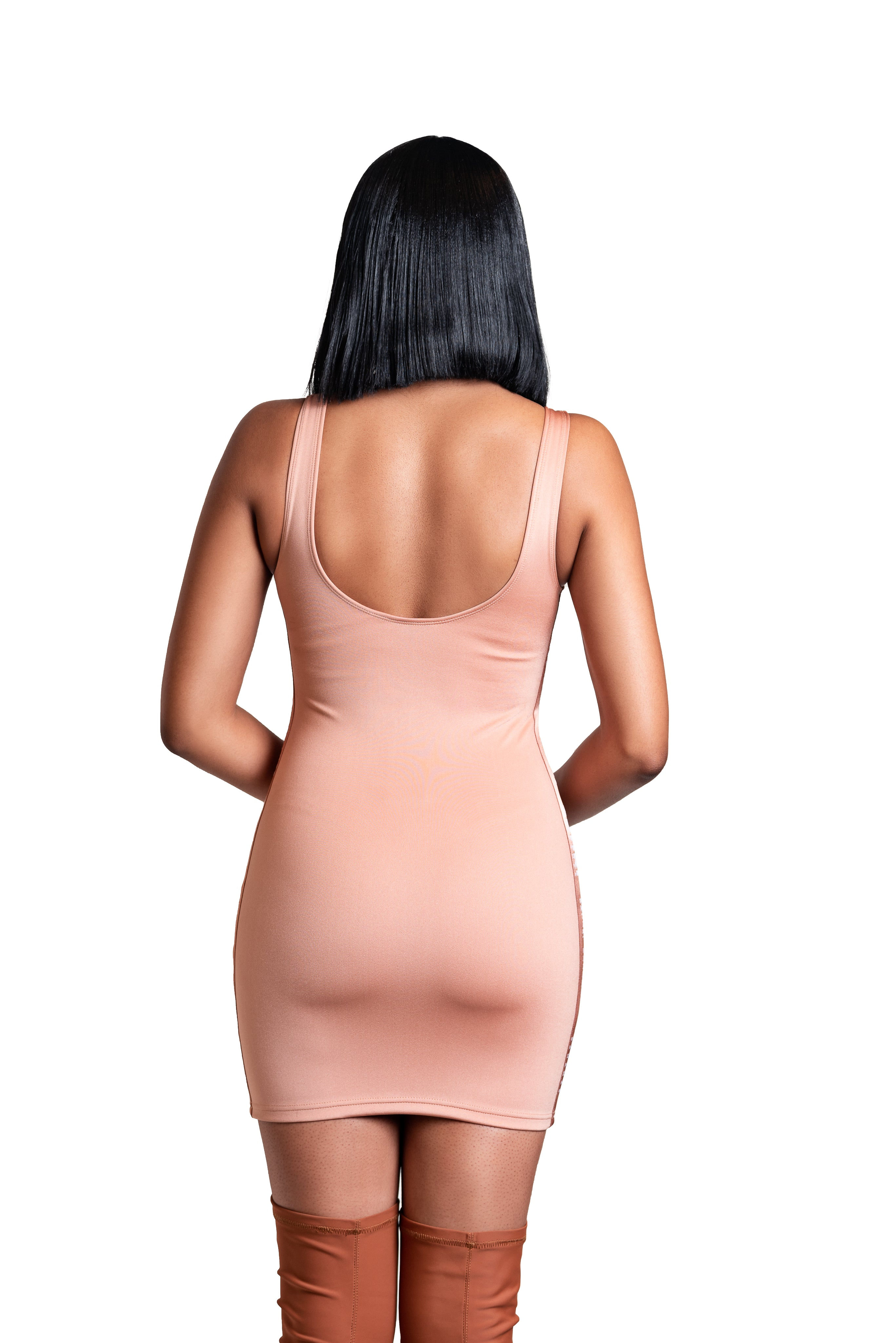 The Sticatto Bodycon- Nude