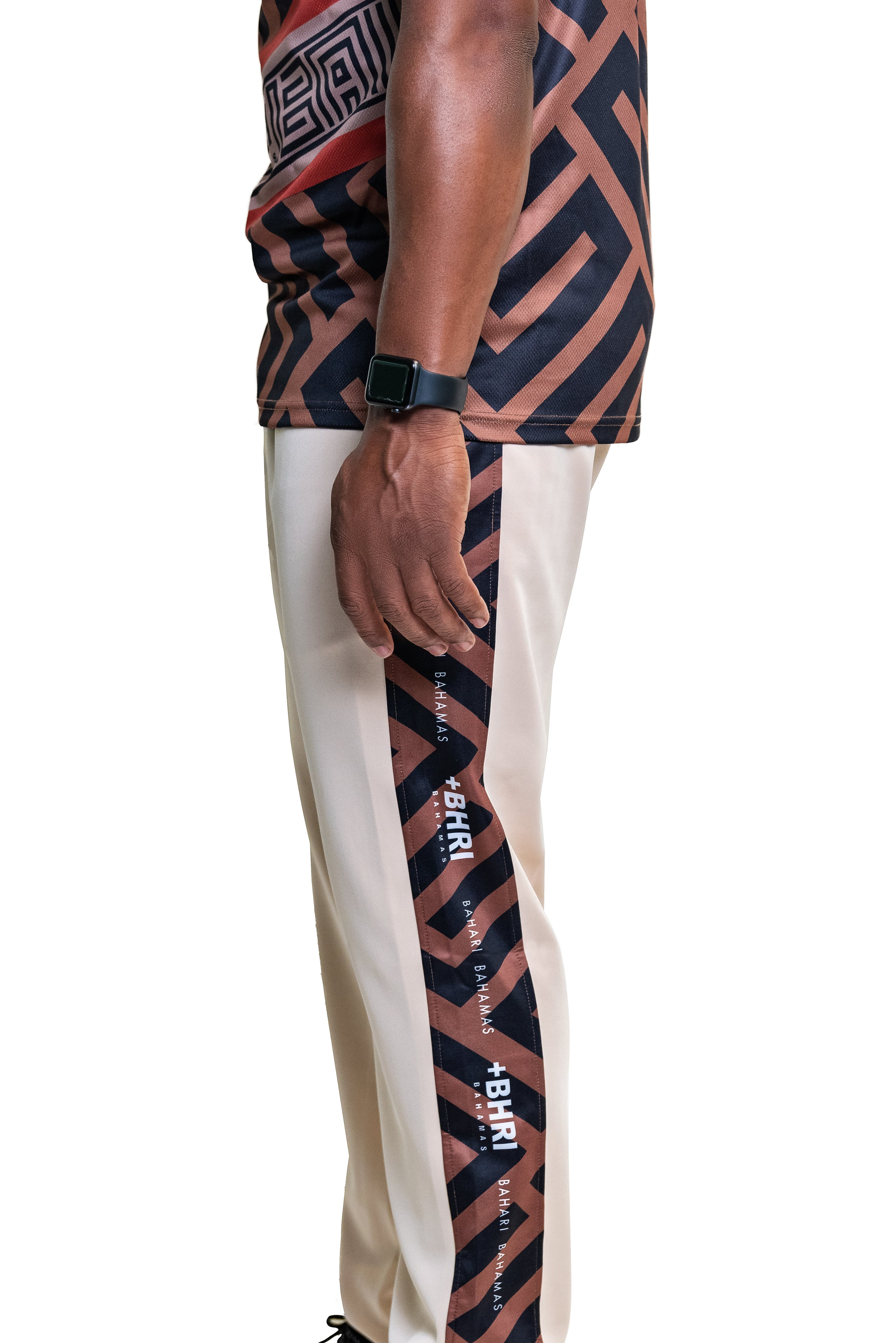 The Avion Track Pants- Beige
