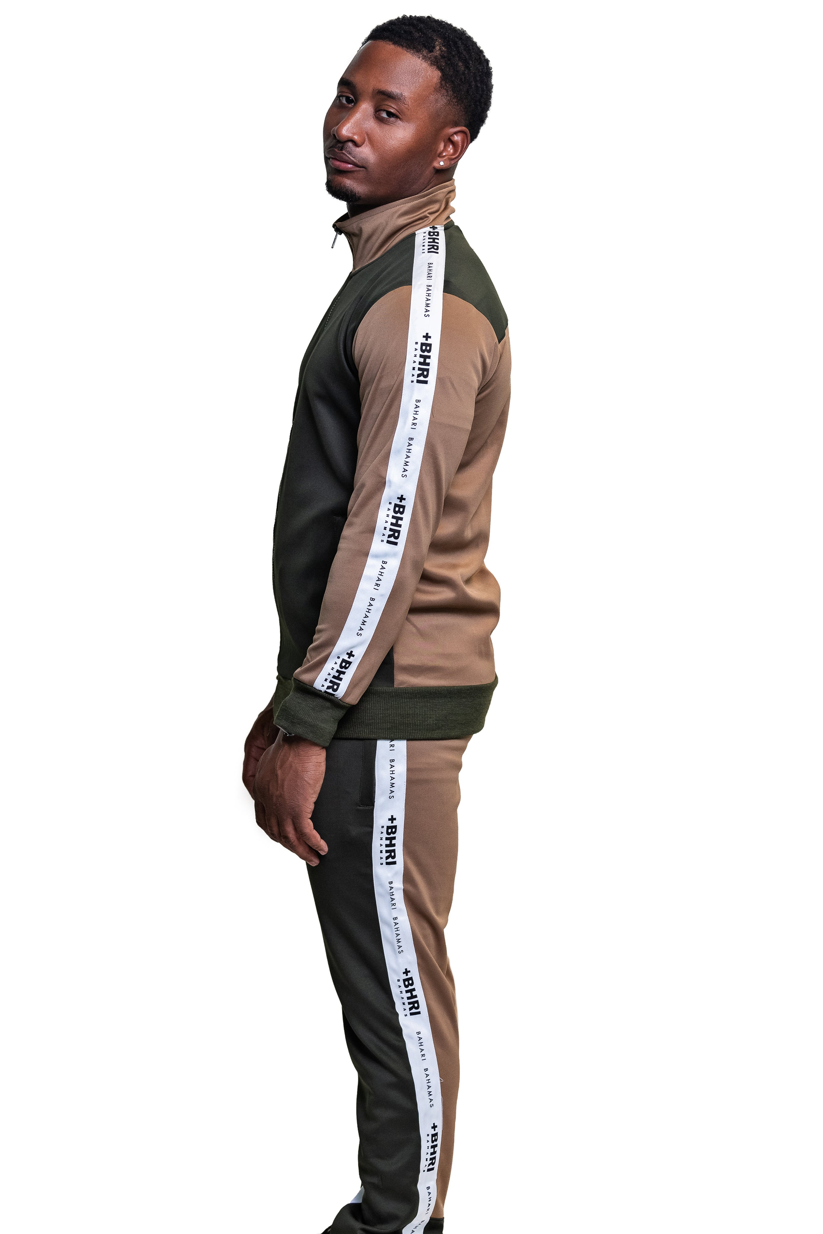 The Pollatto Track Pants- Olive