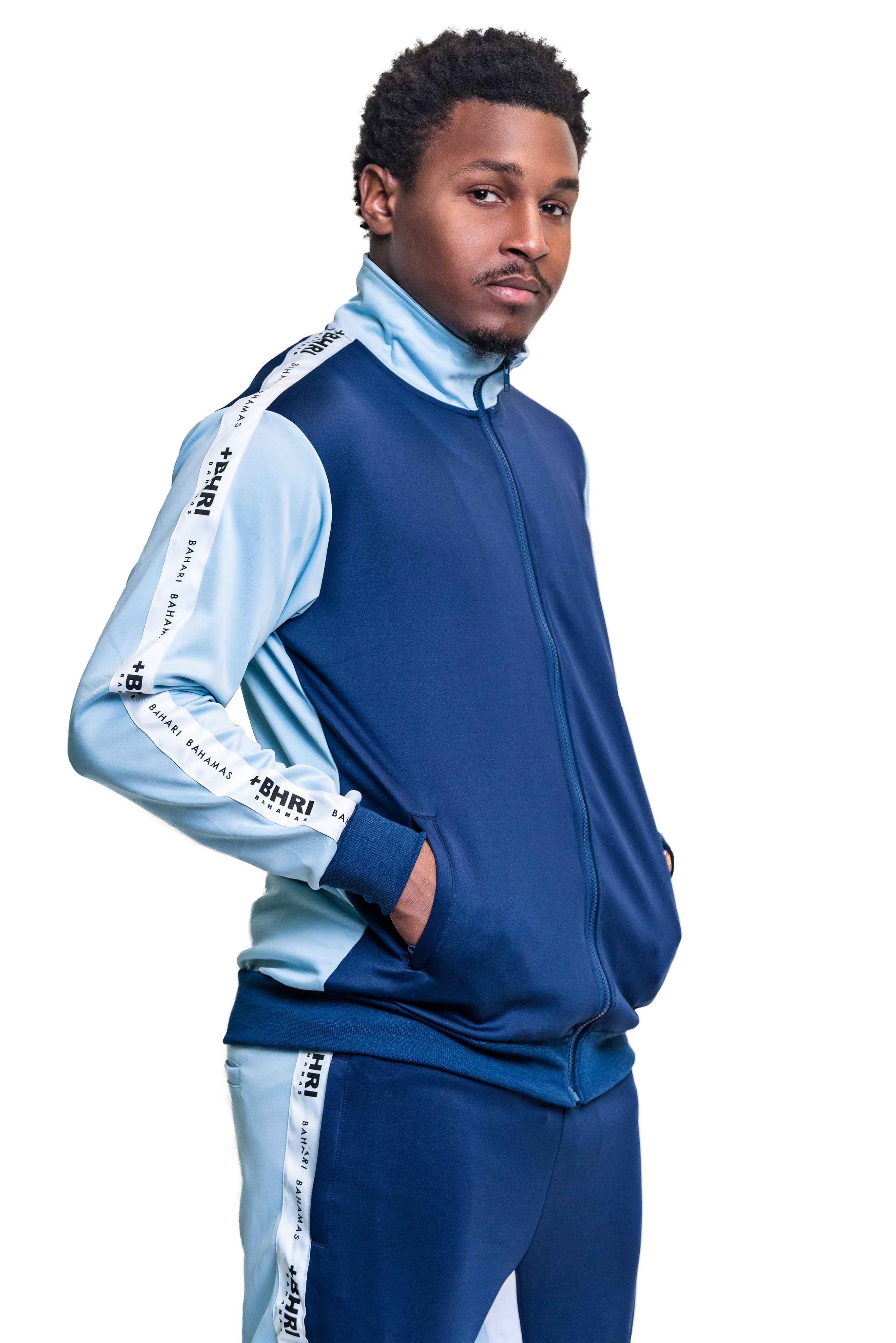 The Pollatto Track Jacket- Navy