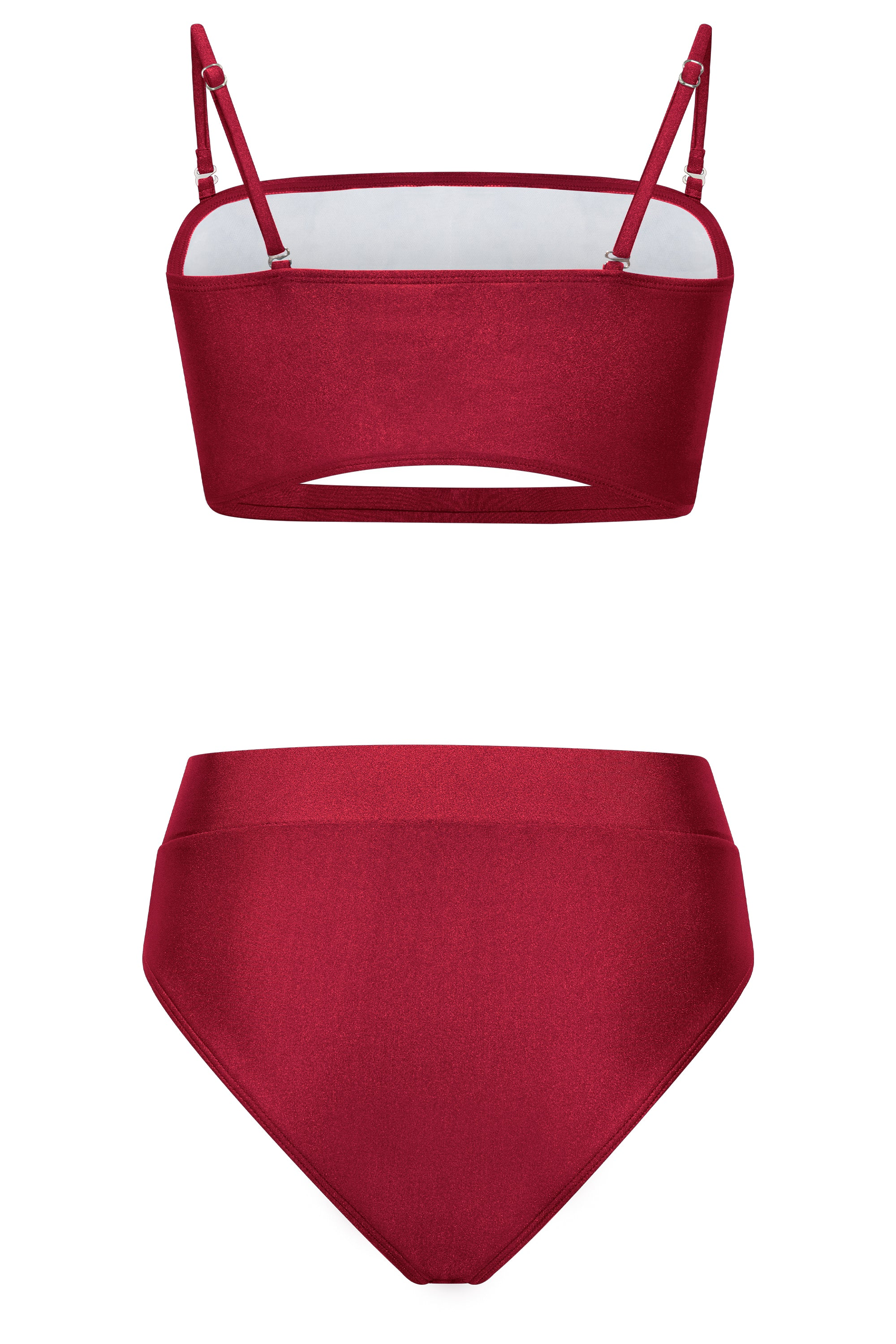 THE FORTUNA BIKINI- GARNET