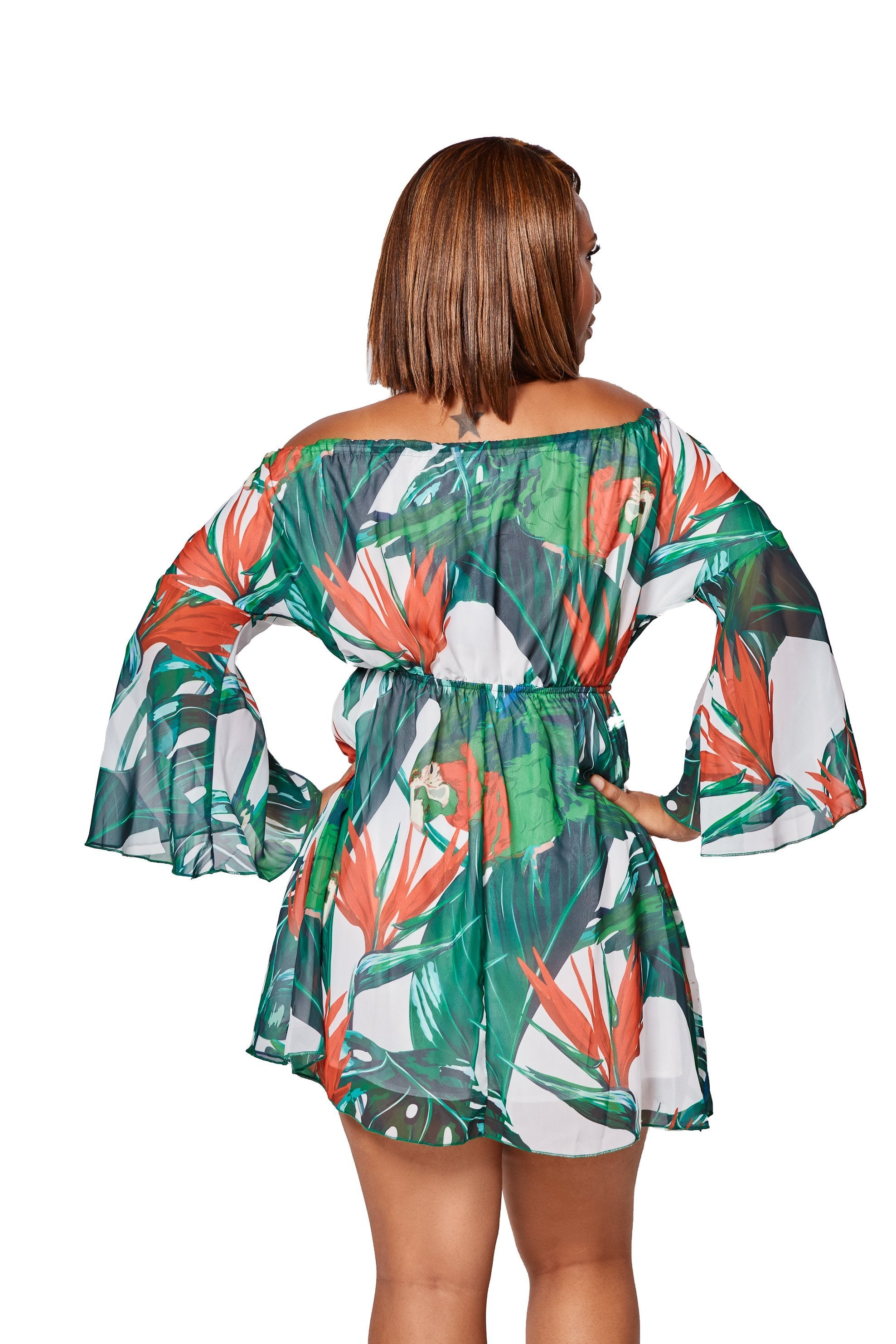 The Amazona Romper Dress