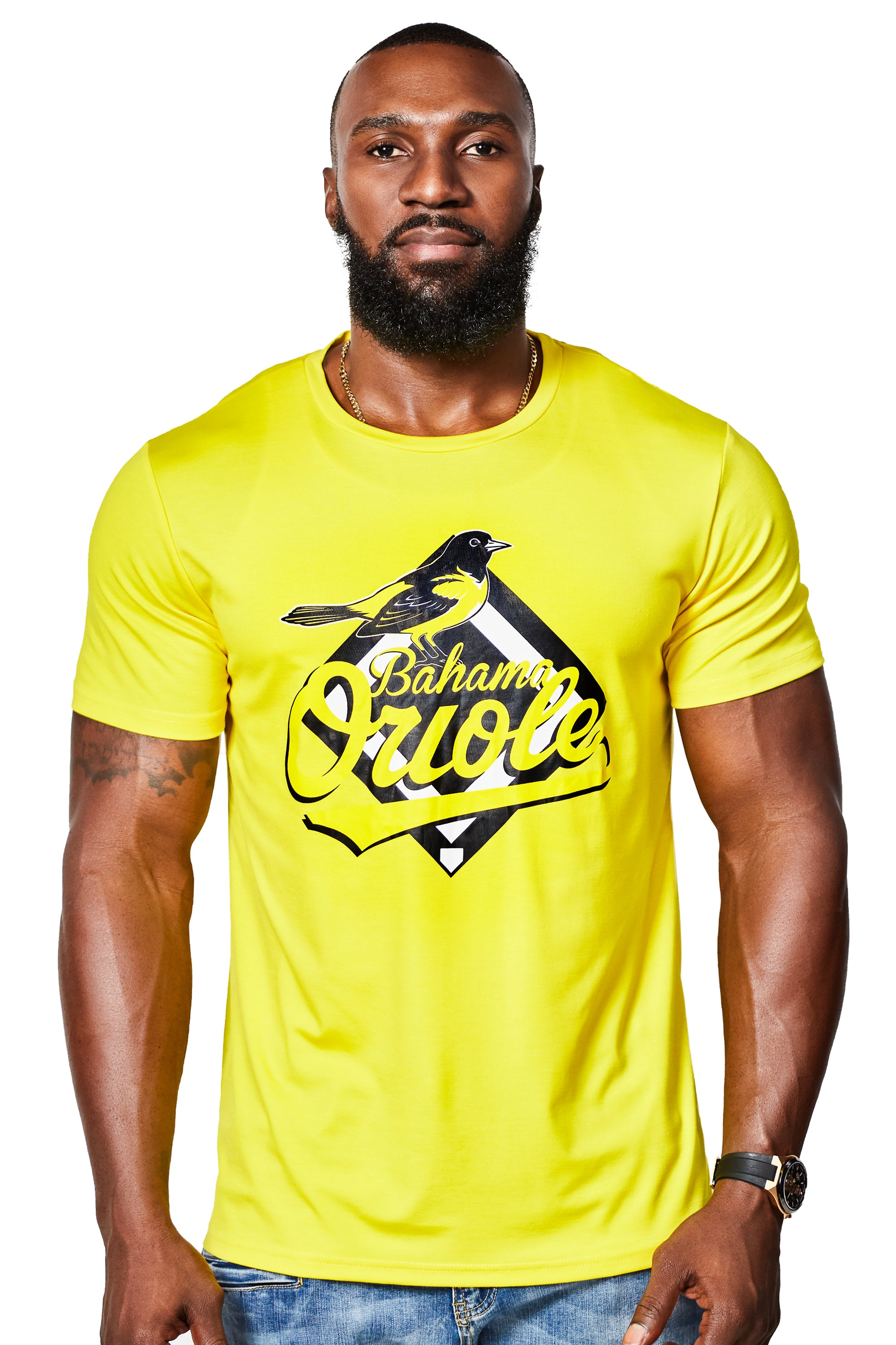 The Oriole Silk Cotton Tee