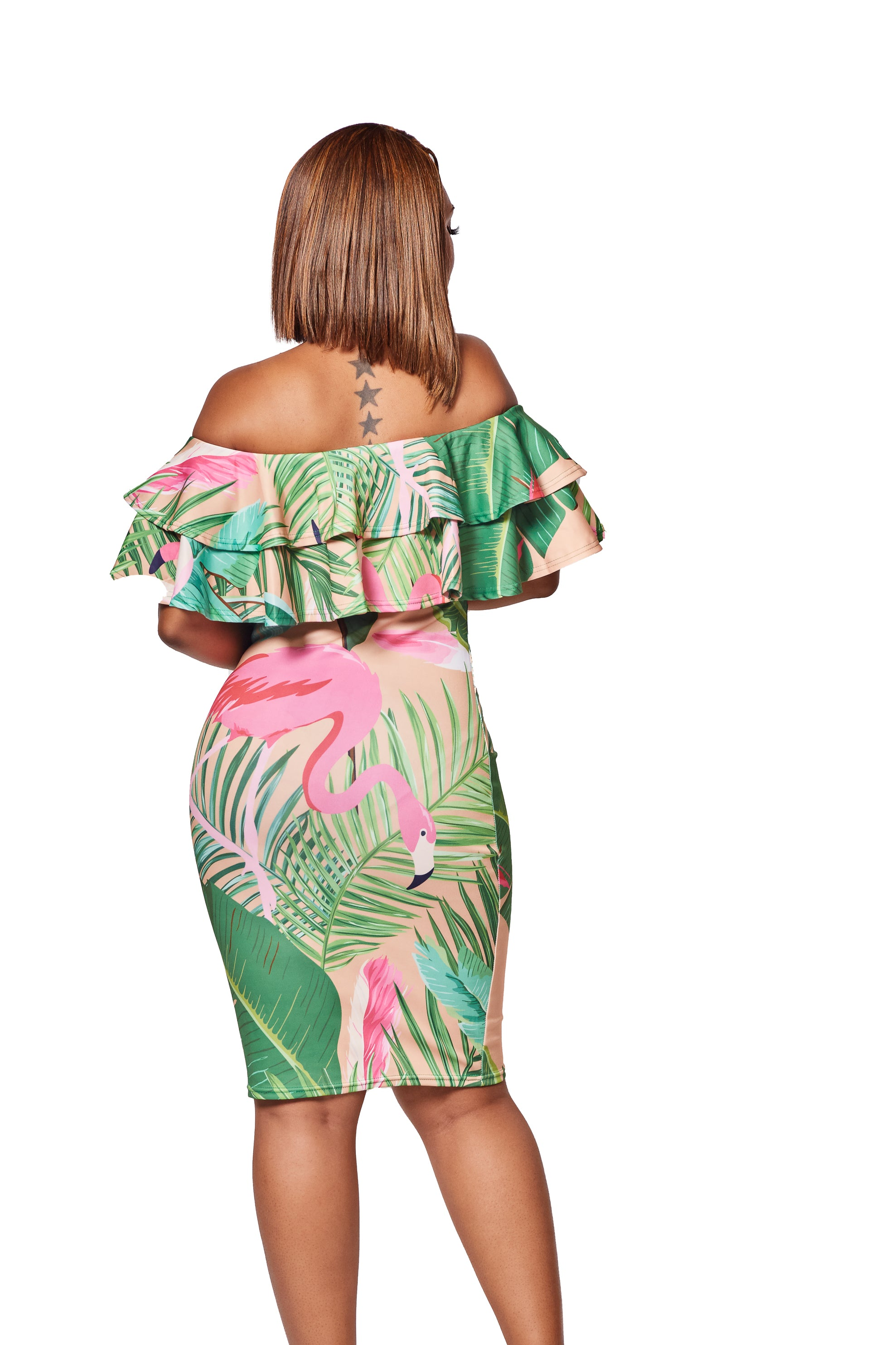 The Mingo Off Shoulder Dress