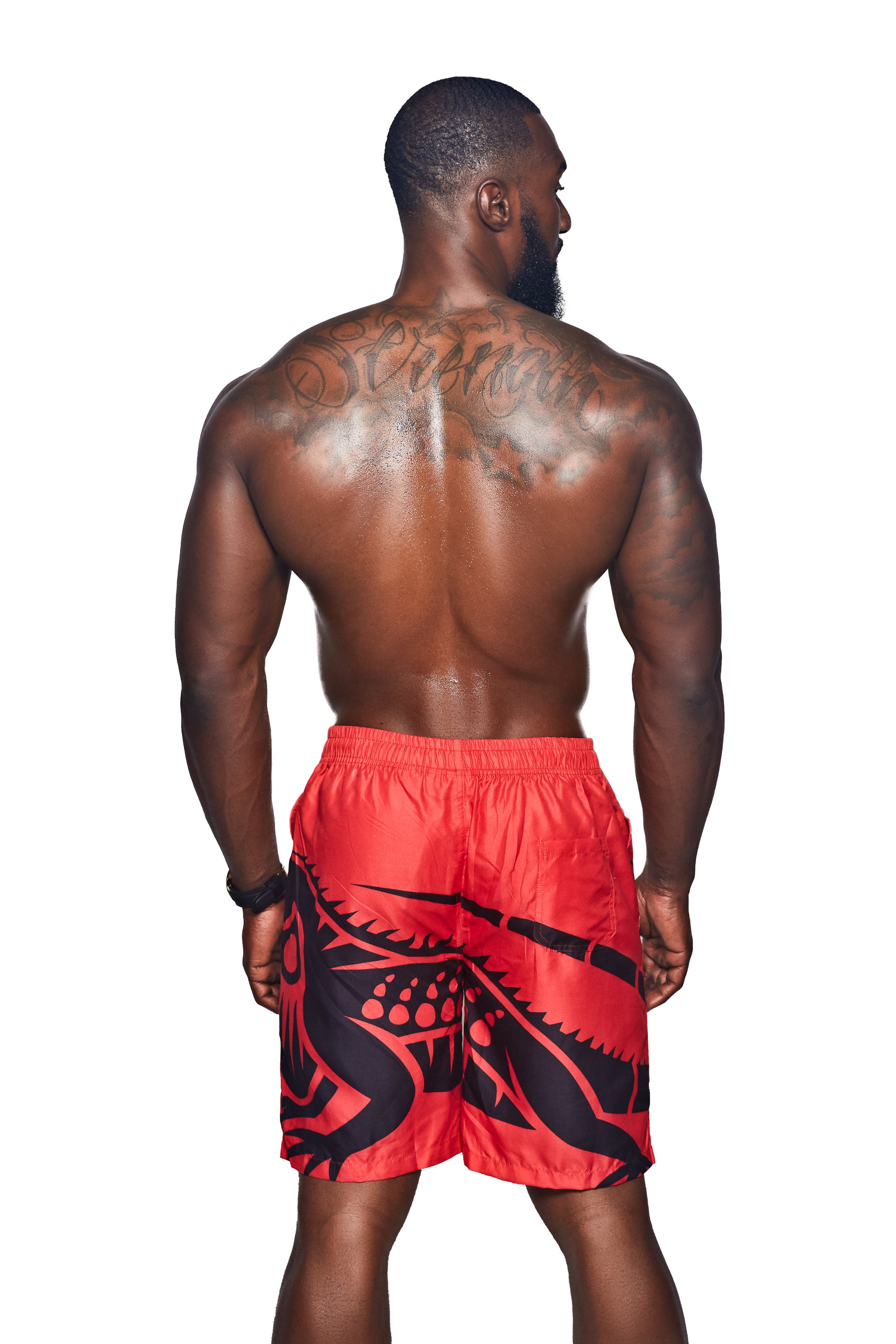 The Clura Shorts - Red