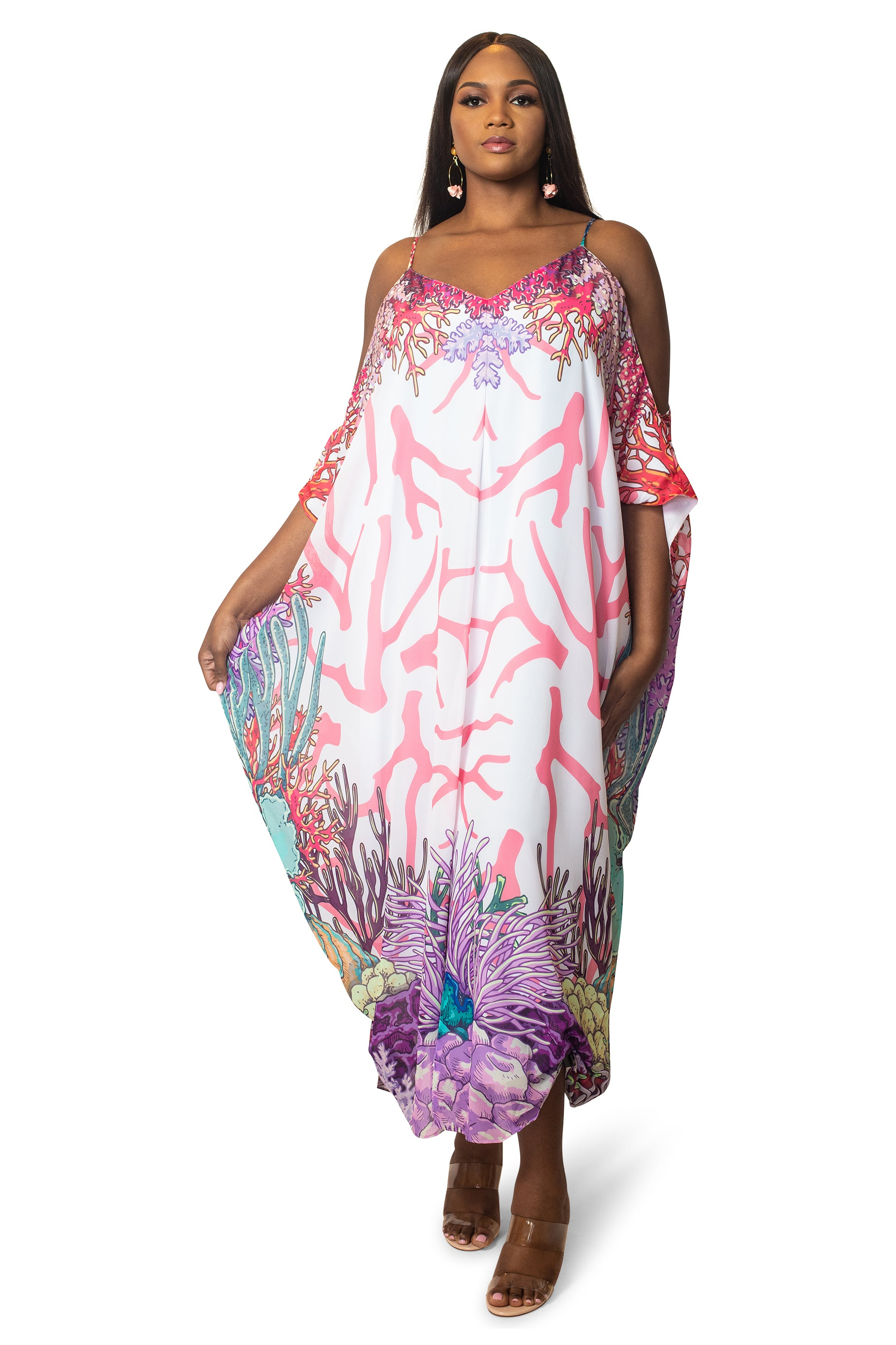 THE LAROC MAXI KAFTAN