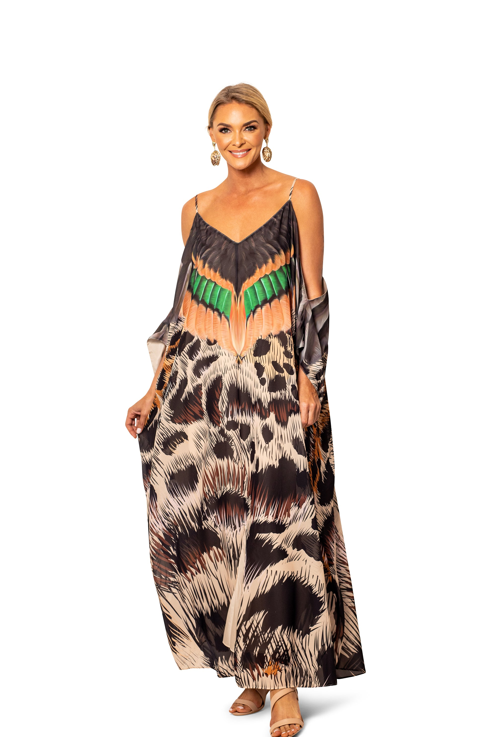 THE PINTAIL MAXI KAFTAN