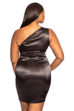 THE ZARRIA DRESS - BLACK