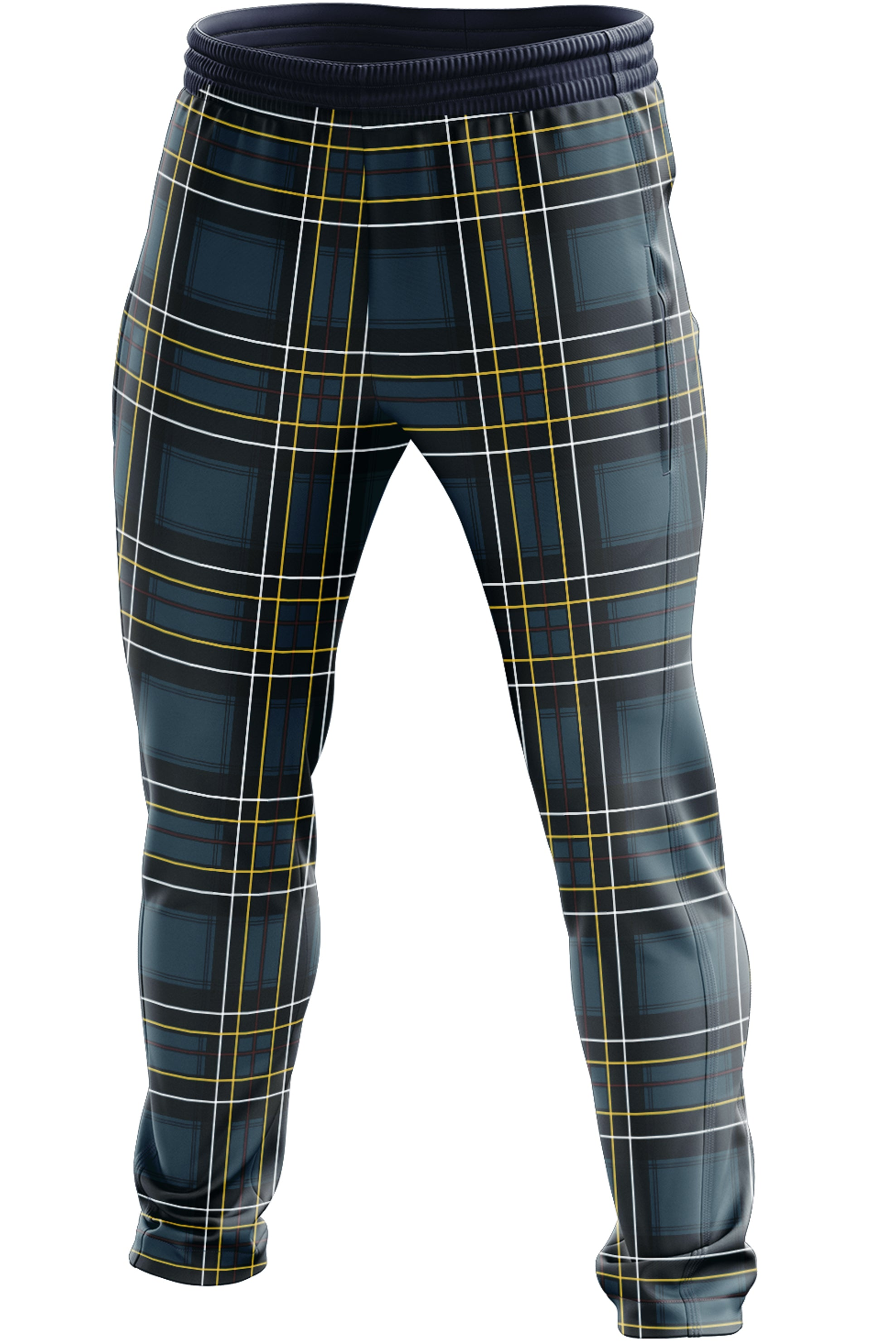 THE TARTAN TRACK PANTS