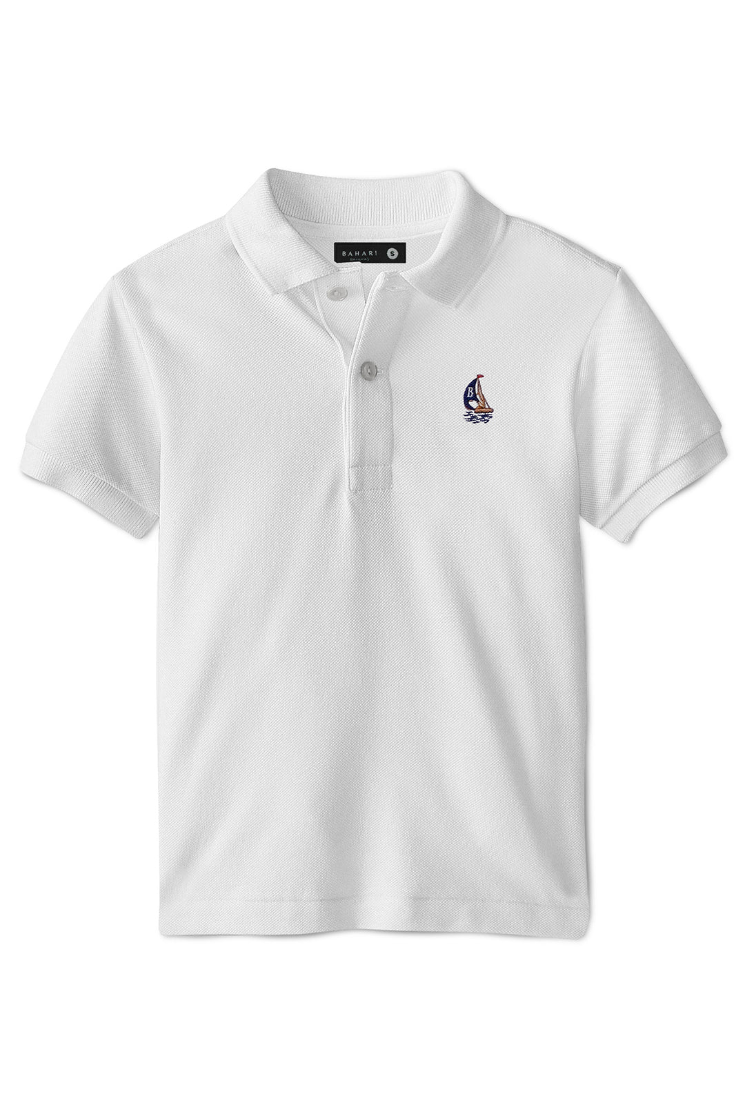 THE CLASSIC POLO- WHITE