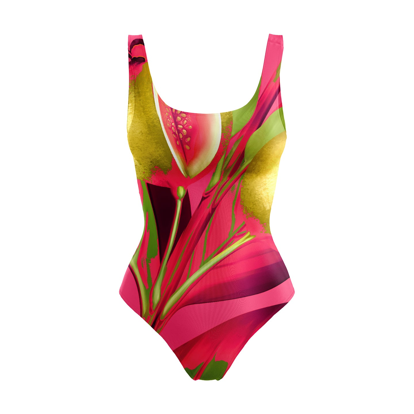 THE GUAJAVA SWIMSUIT