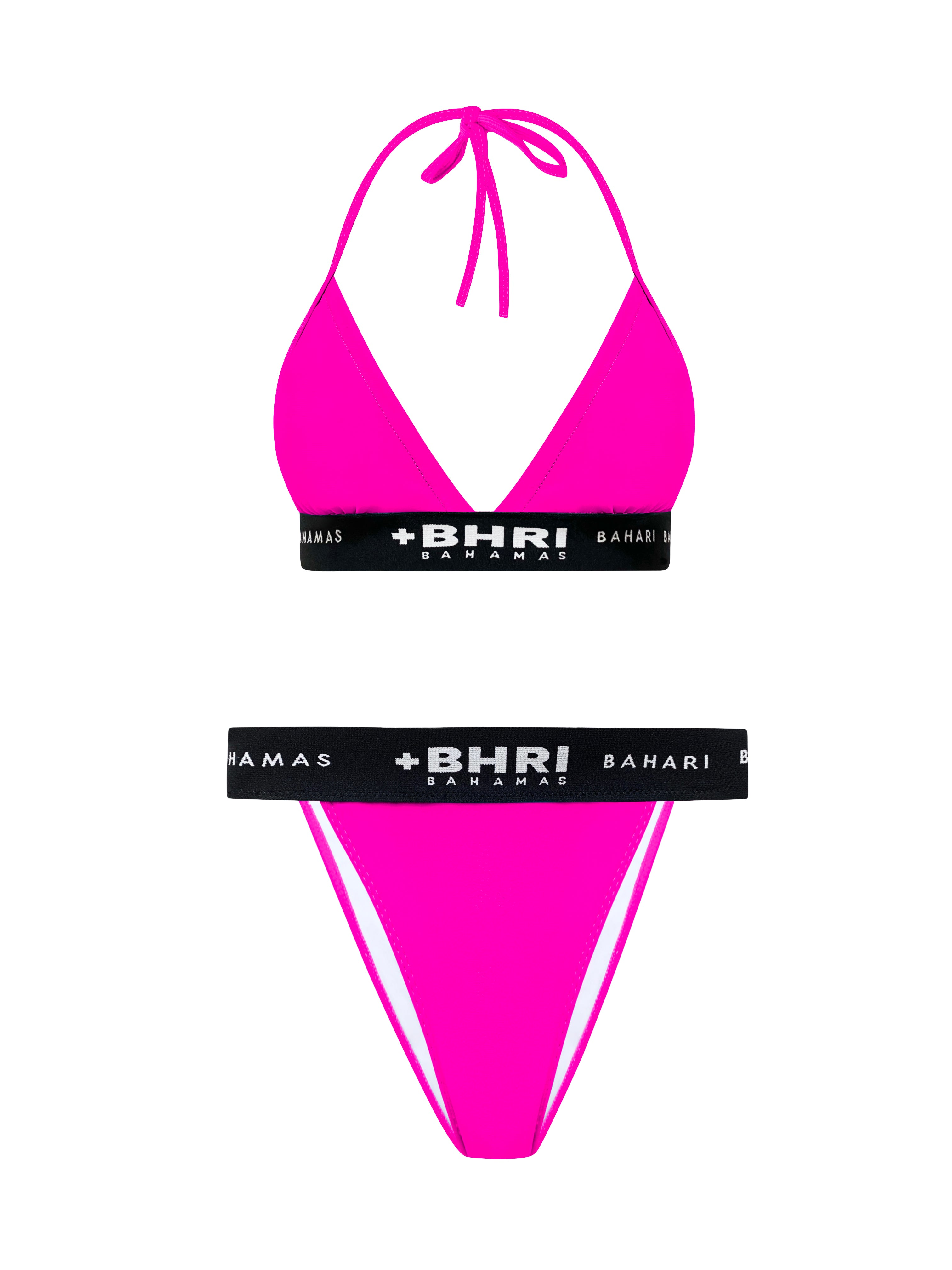 THE BILAL BIKINI- HOT PINK