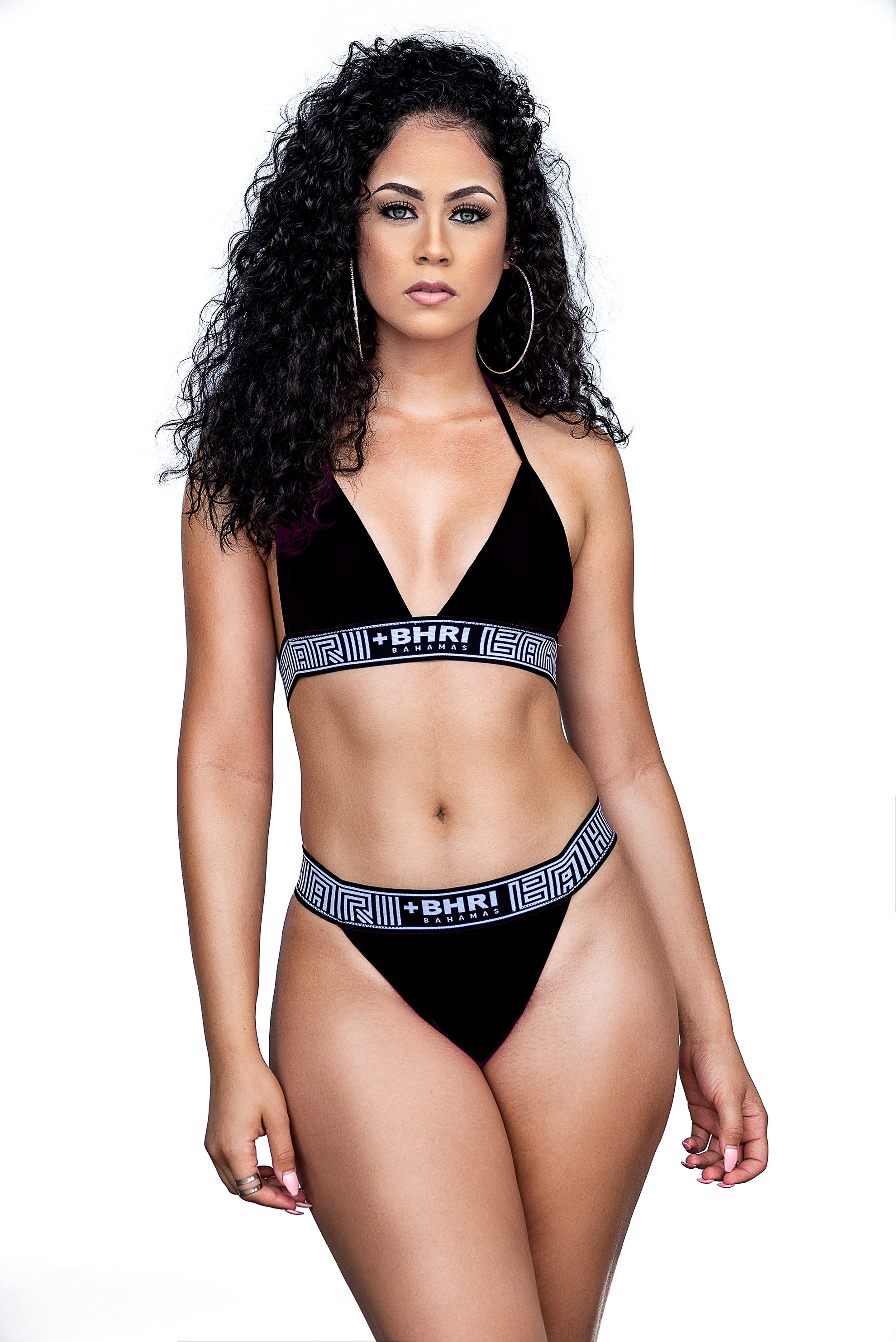 The Pollatto Bikini II- Black