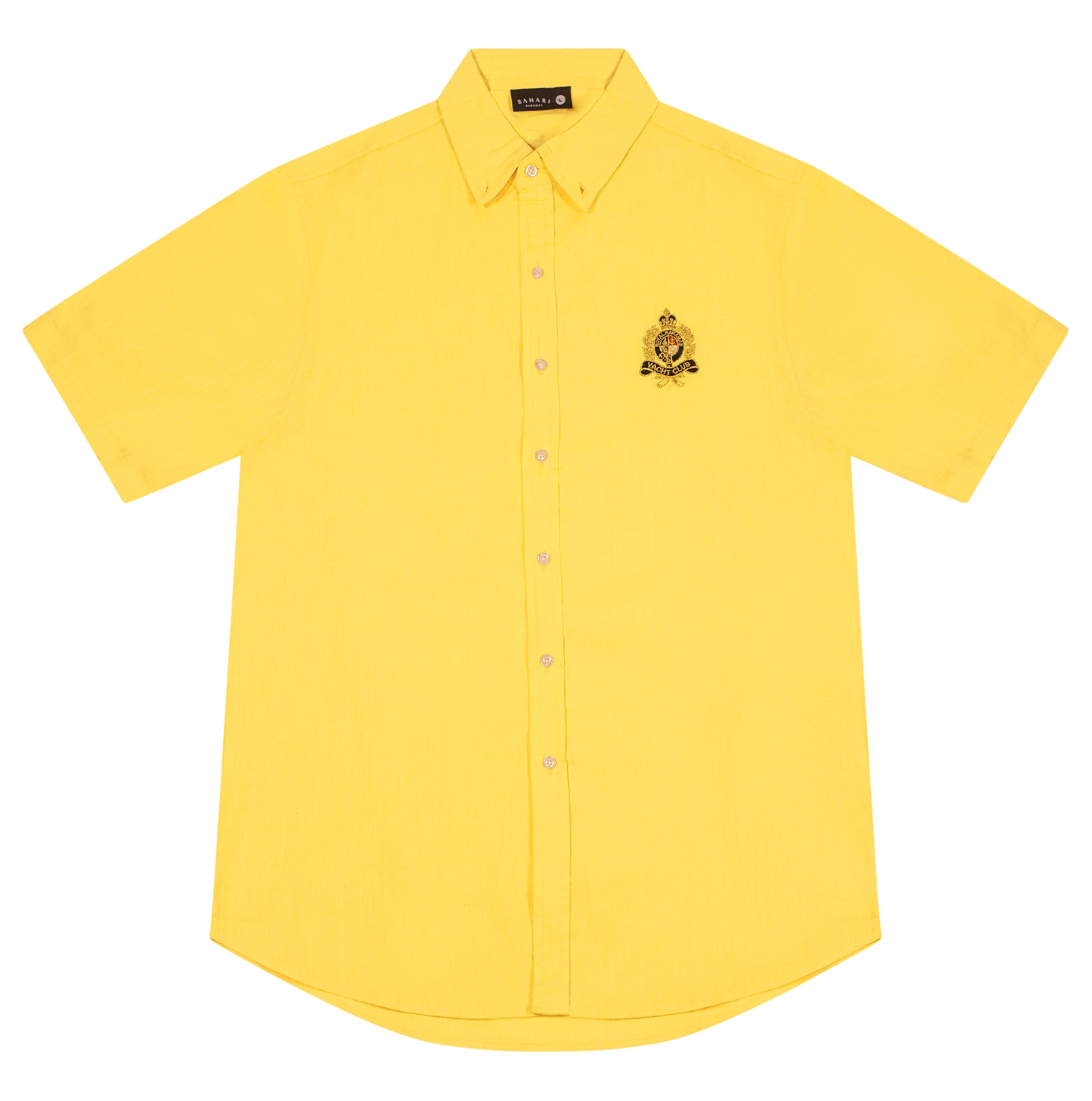 The RBYC Linen Shirt- Yellow