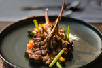 Rack of lamb with rosemary