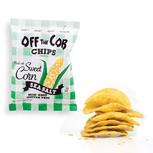Backordered: 36 pack (1-oz bags) Off the Cob Chips, Sweet Corn & Sea Salt