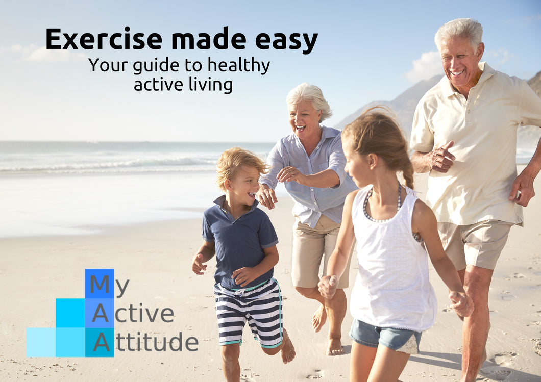 Exercise made easy - Hard copy $39.95 - Scroll for Kindle version $12.00