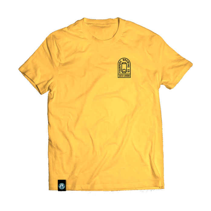 Gold Beer Can T-Shirt