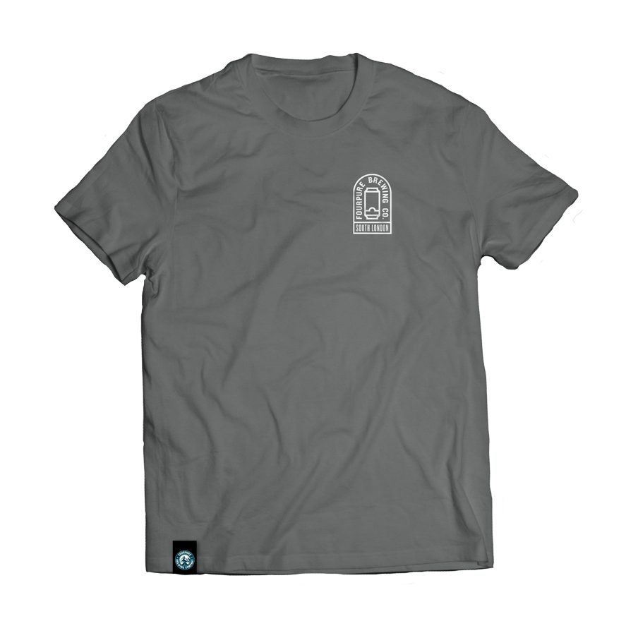 Grey Beer Can T-Shirt