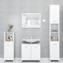 Load image into Gallery viewer, Bathroom Furniture Set White Chipboard