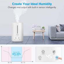 Load image into Gallery viewer, Mooka Cool Mist Humidifier, Top Fill 4.5L (1.2 gal) Large Tank