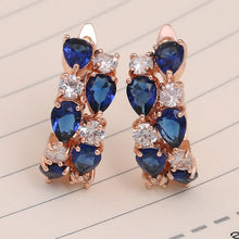 Load image into Gallery viewer, Classic Semi-Precious Stone Stud Earrings for Women