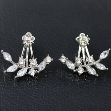 Load image into Gallery viewer, Pearl Pendants Bijoux Angel Wings Leaf Feather Flowers Stud Earrings
