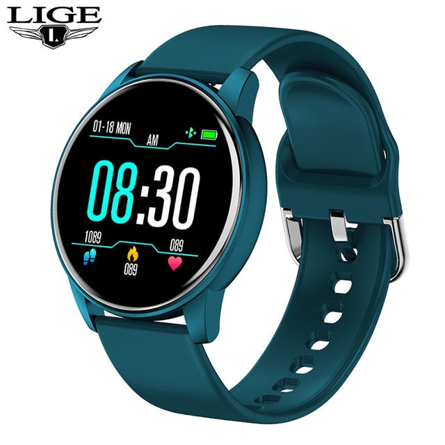 Women's Smart Watch Real-time Weather Forecast Activity Tracker Heart Rate Monitor Sports Ladies Smart Watch Men For Android IOS