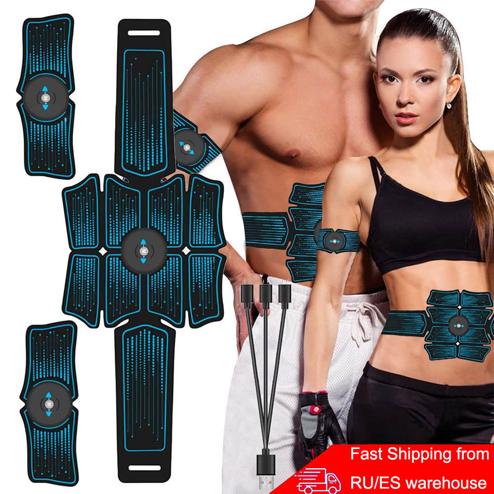 Abdominal Belt Electrostimulation ABS Muscle Stimulator