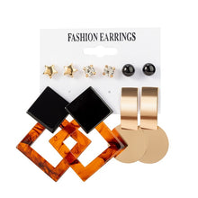 Load image into Gallery viewer, 12 Pairs/ Women's Earrings Set Stud Earrings