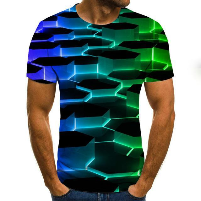 Men's & Women's 3D Vortex T Shirt