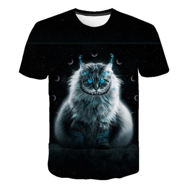 3s T shirt for men and women Cats