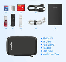 Load image into Gallery viewer, Rocketek external hard carrying case For SSD or hard drive