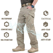 Load image into Gallery viewer, Military Tactical Pants Men Multi-pocket SWAT Combat Army Waterproof Pants