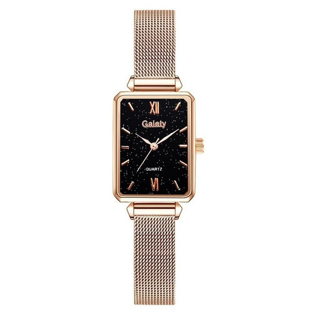 Women's Square Quartz Watch