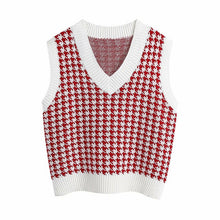 Load image into Gallery viewer, Women Vest Sweater