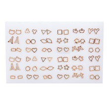 Load image into Gallery viewer, 36Pairs/18pairs Earrings Mixed Styles Rhinestone