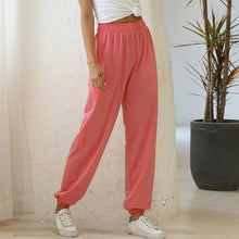 Load image into Gallery viewer, Loose Joggers Wide Leg Sweat Pants Women Korean Casual Yoga Pant
