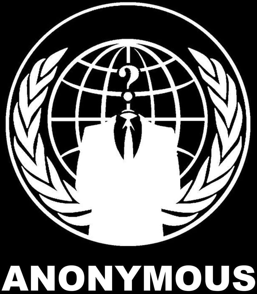 Anonymous Crest - Die Cut Vinyl Sticker Decal
