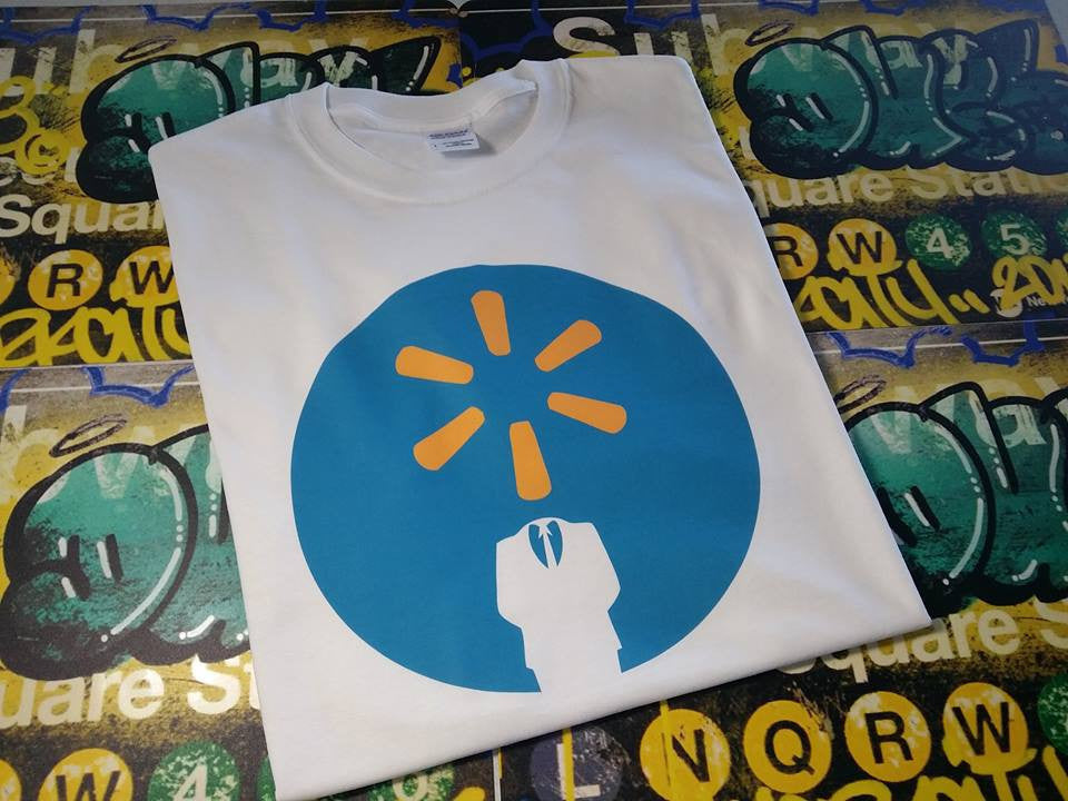 Anonymous Walmart Logo T-shirt