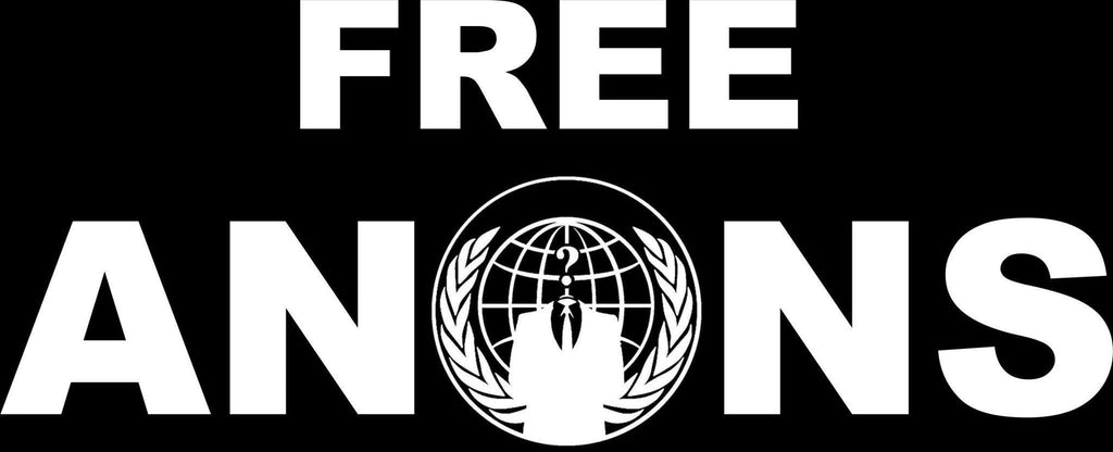 FreeAnons Fundraiser | Die Cut Vinyl Sticker Decal