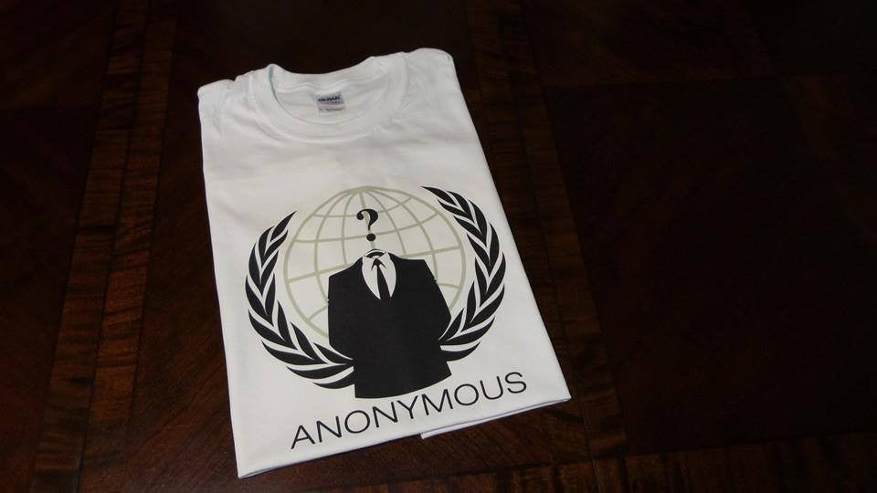Anonymous Crest T-shirt