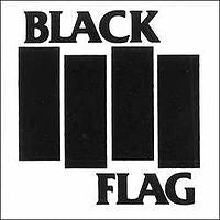 Black Flag die cut decal sticker Punk Rock